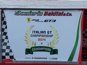 A Monza Casé e Giammaria vincono il Campionato Italiano Gran Turismo 2014