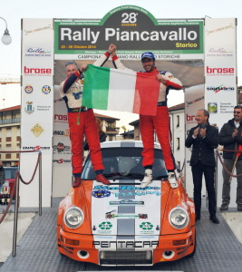 Nicholas Montini è Campione Italiano Rally Storici 2014