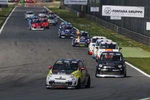 A Monza è iniziata la stagione 2015 dei Trofei Abarth