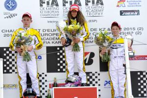 KARTING: CIK-FIA EUROPEAN CHAMPIONSHIP KZ & KZ2 + KARTING ACADEMY TROPHY A ZUERA (E) - FINALI