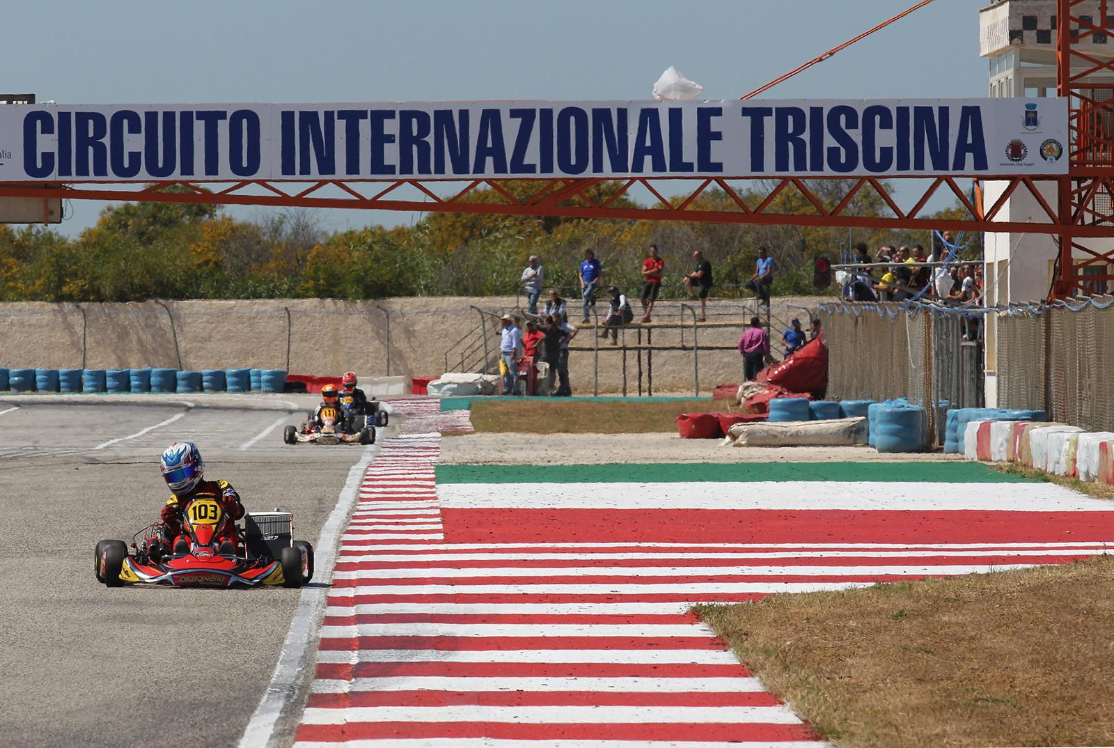 Circuito Internazionale Sagittario : Ottimo avvio del campionato italiano aci karting con circa