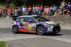 FELICE RE E MARA BARIANI CONQUISTANO CON LA CITROEN DS3 WRC IL TERZO SUCCESSO CONSECUTIVO AL RALLY RONDE DEL TICINO