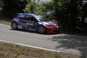 2^ Ronde dei Colli Piacentini. Bossalini-Gerevini su Peugeot 207 Super2000 dominano la gara di casa