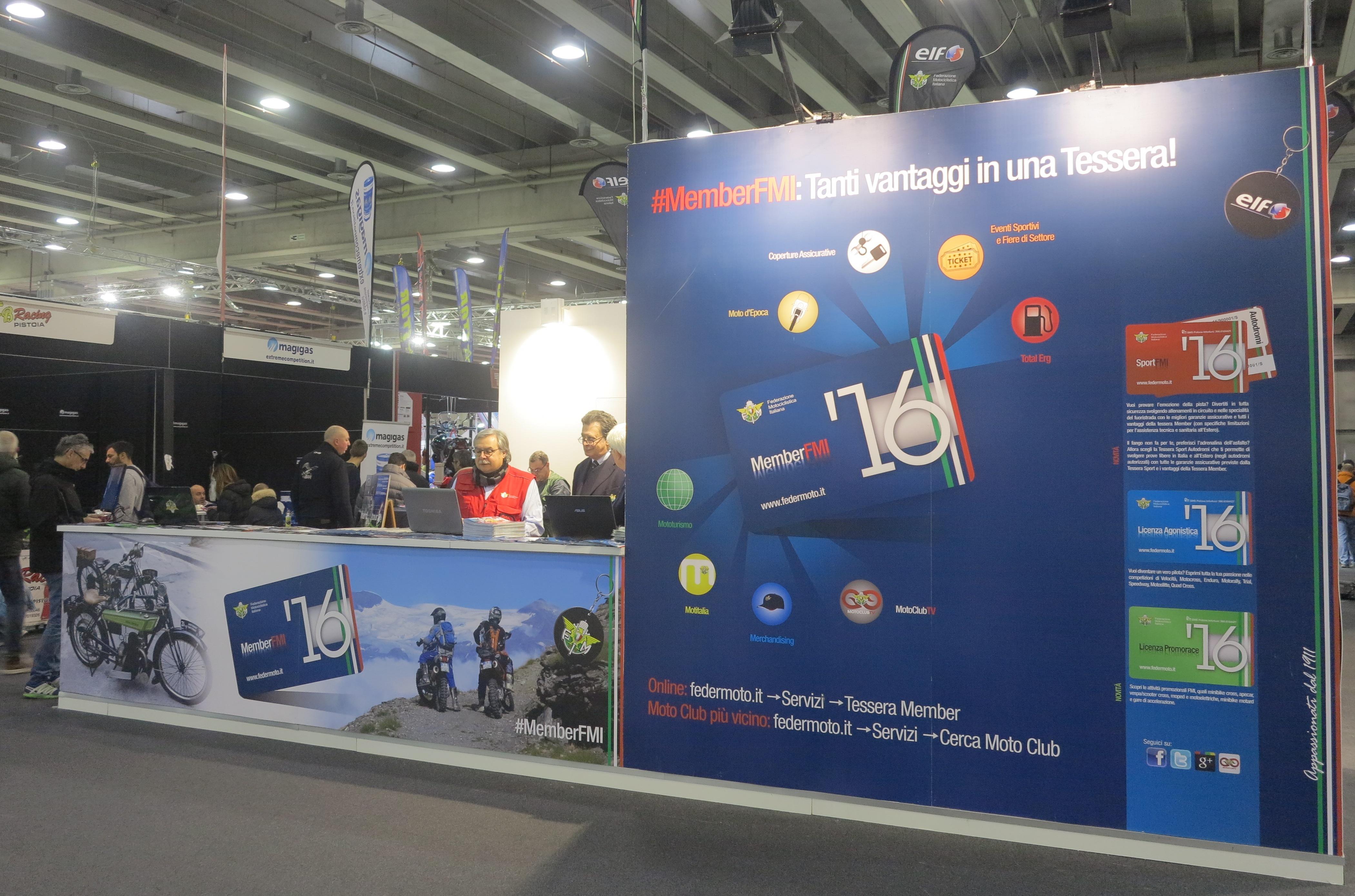 La Fmi Al Motor Bike Expo Nella Giornata Di Apertura