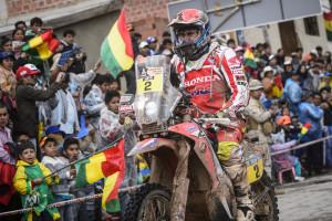 Honda, Dakar: Paulo Gonçalves vince la settima tappa