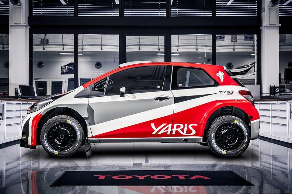 Toyota Yaris Rally WRC