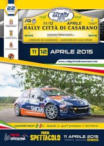 Il TRN 5^zona è pronto a scattare dalle selettive speciali del Rally Città di Casarano, domani verifiche e partenza