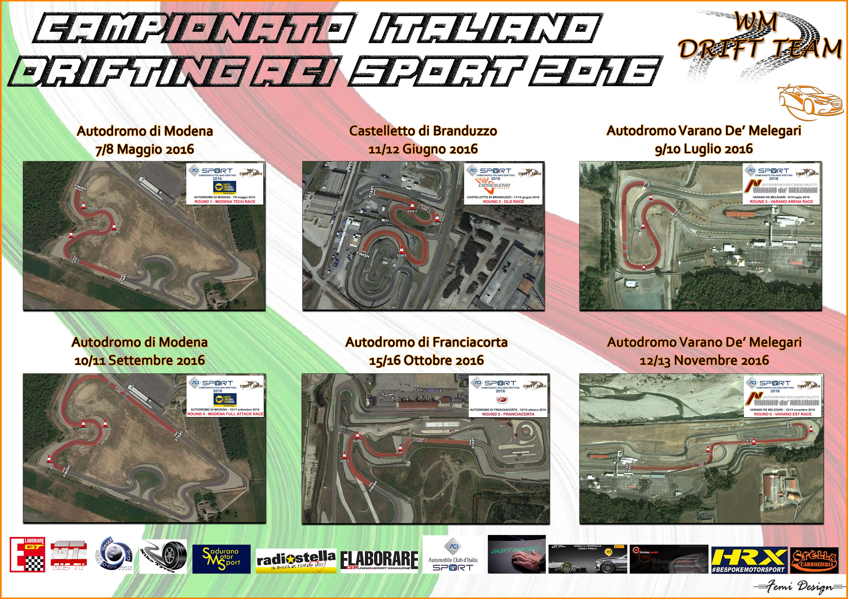 Aci Sport Calendario.A Varano Il Terzo Appuntamento Del Campionato Italiano